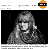 Hilde Hefte interview